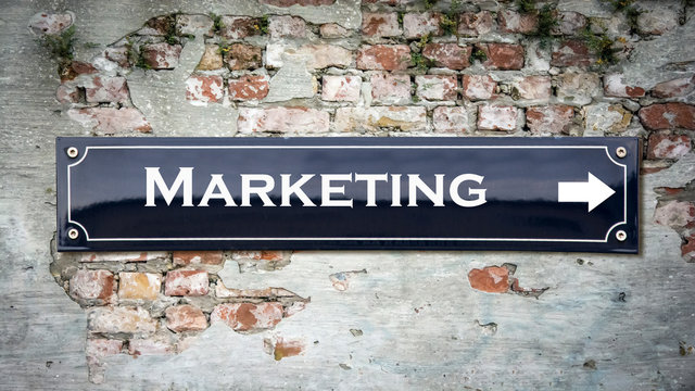 Sign 390 - Marketing