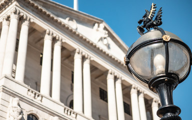 Bank of England and City of London lamposts