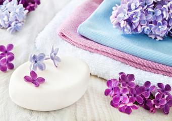 Kosmetik - Flieder - Seife