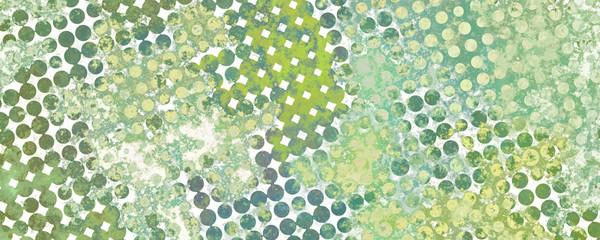 Multicolor grunge background of spots halftone