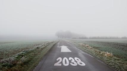 Schild 402 - 2038