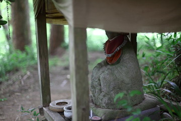香嵐渓の地蔵