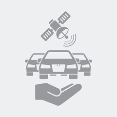 Satellite connection for cars