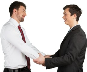 Fototapete - two professional having an agreement