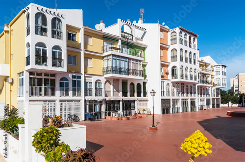 Mediterranean Modern Architecture In Spain Stock Photo And