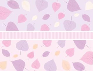pattern foglie