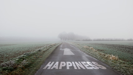 Sign 402 - Happiness