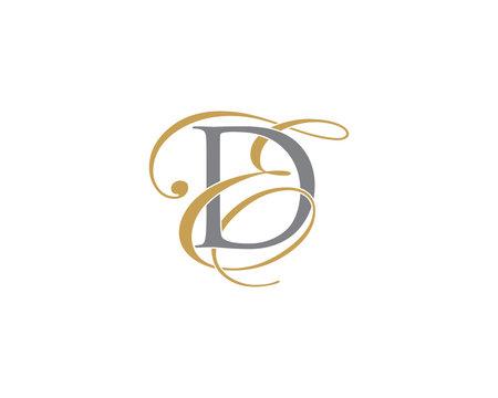 DE ED Letter Logo Icon 002