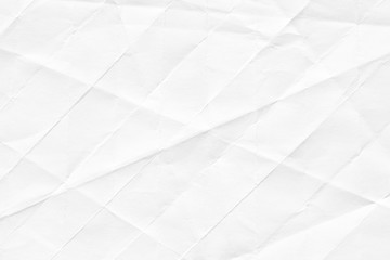 Texture of white paper. Background for various purposes.