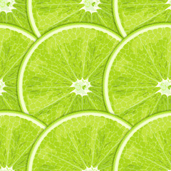 Citrus (lime) fruits seamless texture