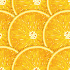 Citrus (orange) fruits seamless texture