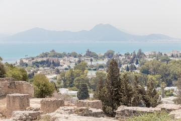 Carthage ancient ruins, Tunisia, Africa