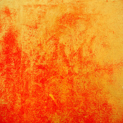 Red and gold abstract textured background. Chinese new year artistic wall