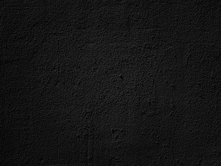 Dark black wall texture cement grunge background
