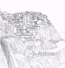 Sketch of Italian Liguria