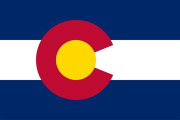 Colorado State Flag Vector