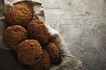 oatmeal cookies with cherry
