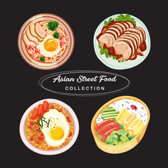 Asian Street Food Collection