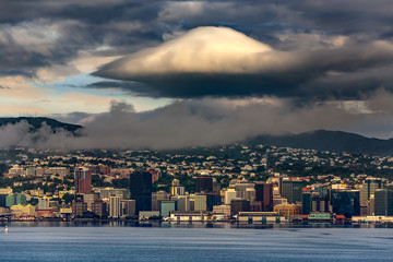 New Zealand, North Island. Wellington, the capital city. The Waterfront