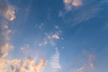 abstract spindrift clouds