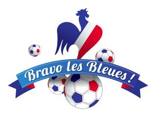 BRAVO LES BLEUES COQ FRANÇAIS
