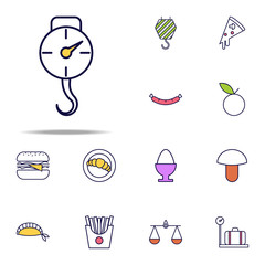 scales with a hook icon. web icons universal set for web and mobile