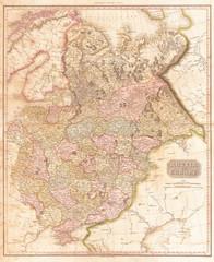 1818, Pinkerton Map of Russia in Europe, John Pinkerton, 1758 – 1826, Scottish antiquarian, cartographer, UK