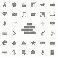 bricks icon. web icons universal set for web and mobile