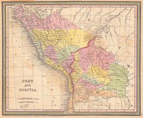1850 Mitchell Map Of Prussia Germany Buy This Stock Illustration