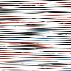 pattern with horizontal colored lines