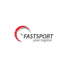 Racing Speed Logo Vector Template