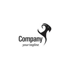Goat Logo vector template