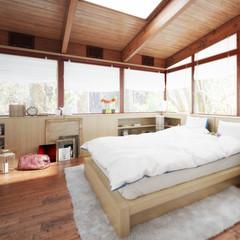 Schlafzimmer im Patio (Detail)