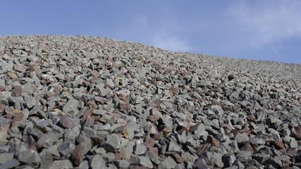 Granitsplitt Rohstoff