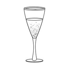 Vector illustration of drink and bar logo. Collection of drink and party stock vector illustration.