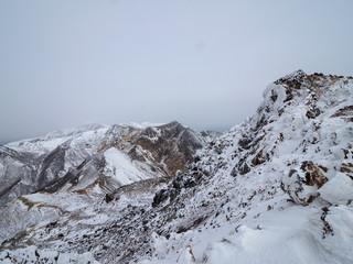 那須茶臼岳岩場