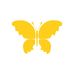 Butterfly icon on white background for graphic and web design, Modern simple vector sign. Internet concept. Trendy symbol for website design web button or mobile app