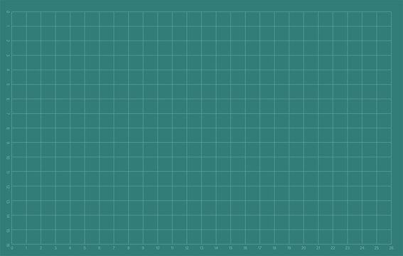 Green cutting mats. Vector illustration