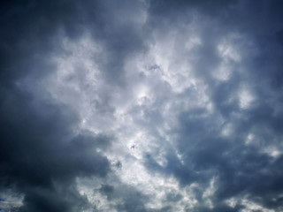 Sky and clouds, cloudy weather