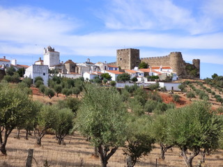 Portugal. Vilage of Terena in Alentejo