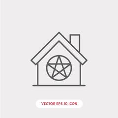 religion home icon vector