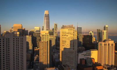 San Francisco. Image of San Francisco skyline
