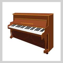 Instrument upright piano