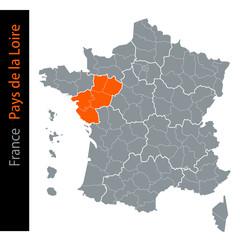 Les régions de France / Région Pays de la Loire