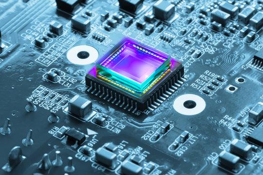 photosensitive sensor on PCB