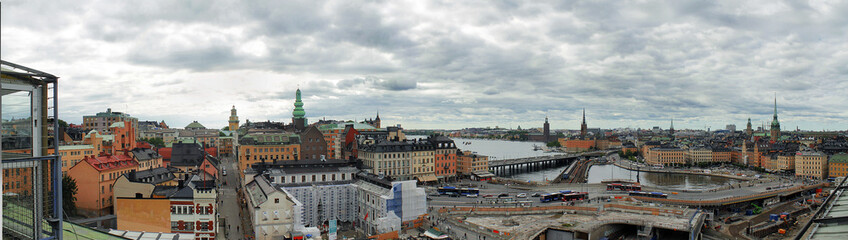 Stockholm City Panoramic