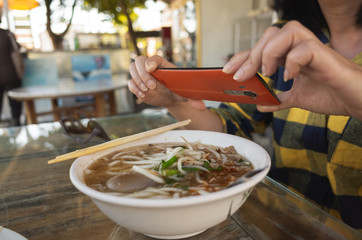 Taiwan traditional rice noodles