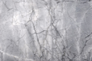 White carrara marble slab with veins