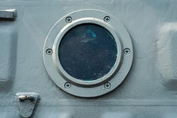 Türaufkleber Schiff porthole hatch door.