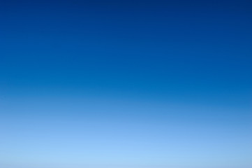 background of gradient white to blue sky